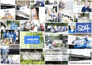 2014-07-12 Schalker Meile Brückenanstrich Tag 1 - die Collage (2) - S04